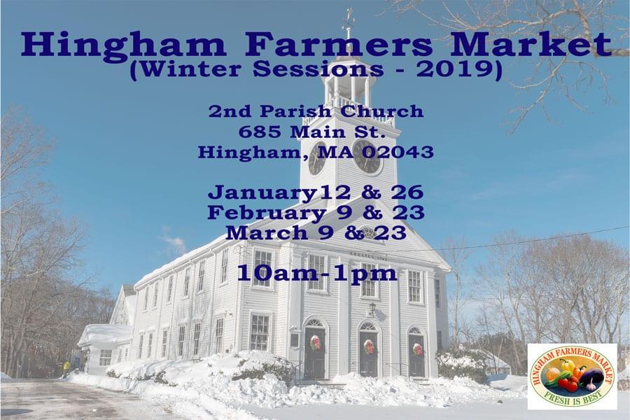 Hingham Farmers Market Winter Market @ Second Parish Church
