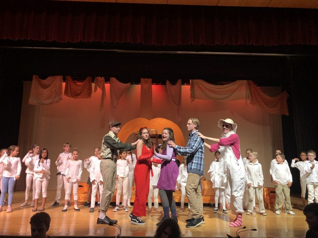 James And The Giant Peach Opens Tonight Hingham Anchor