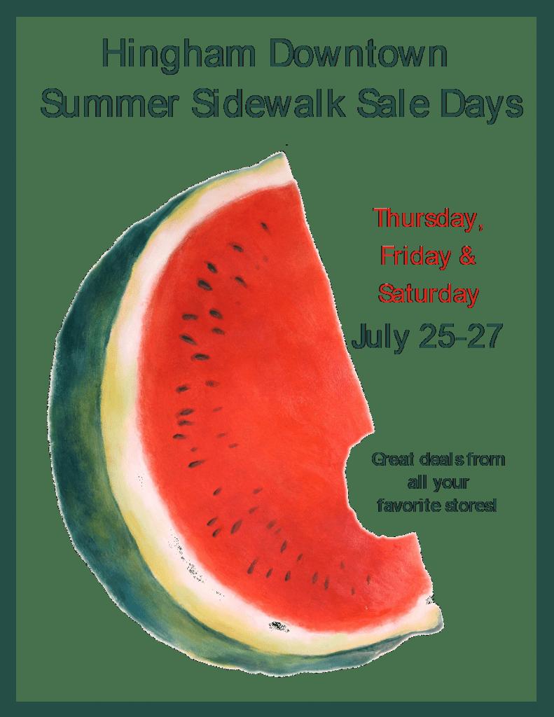 sidewalk sale 3