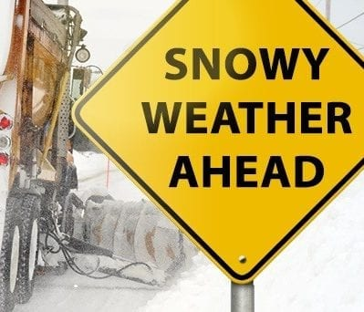 Snow Weather Guidelines from Town of Hingham