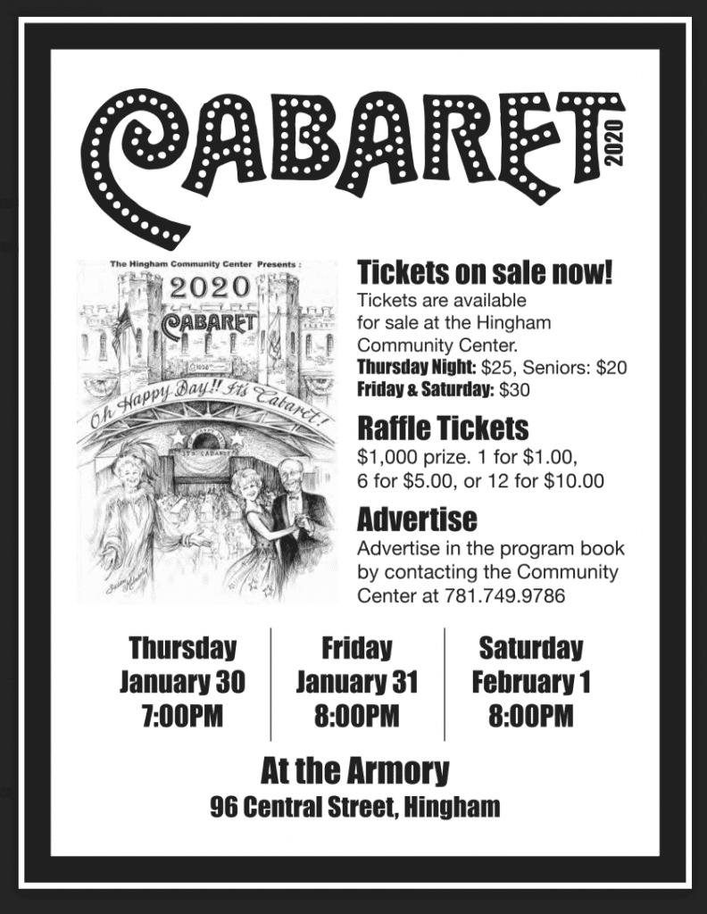 Cabaret @ Hingham Armory