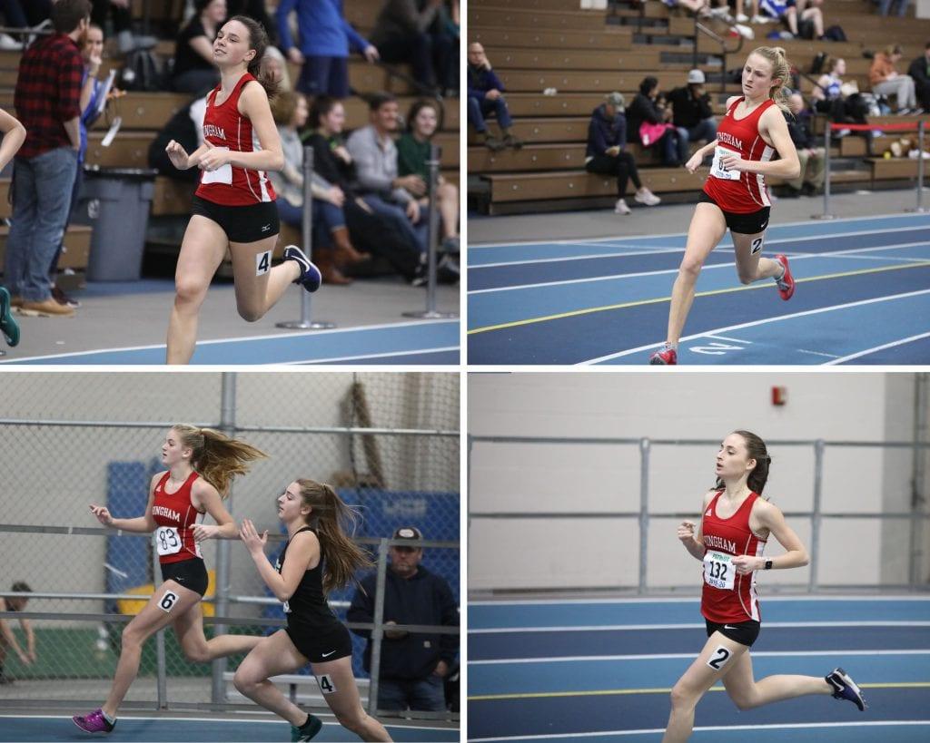 Girls 600 meter grid
