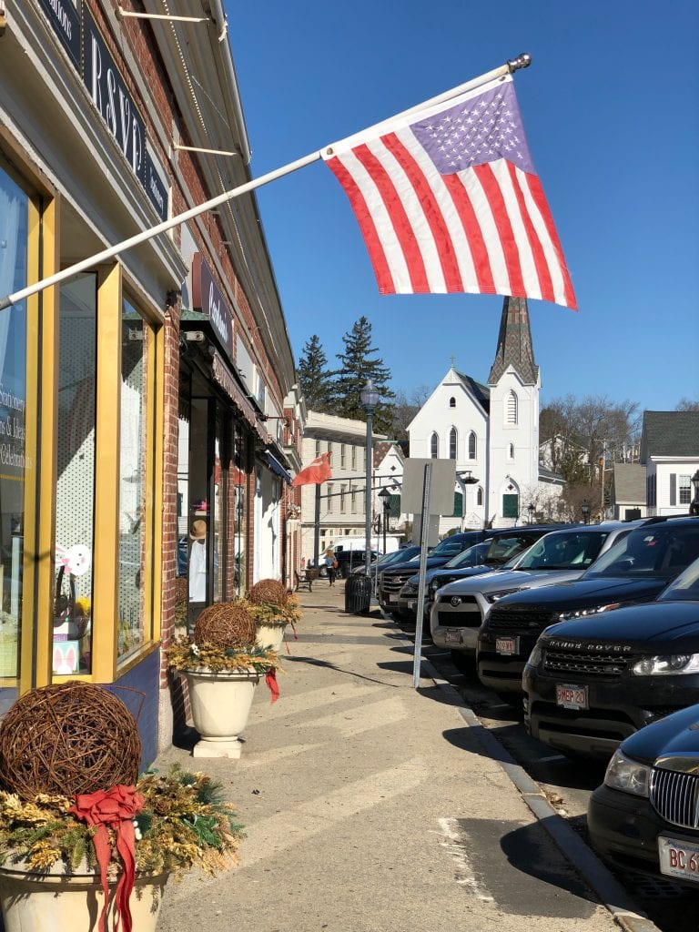 downtown hingham ma center