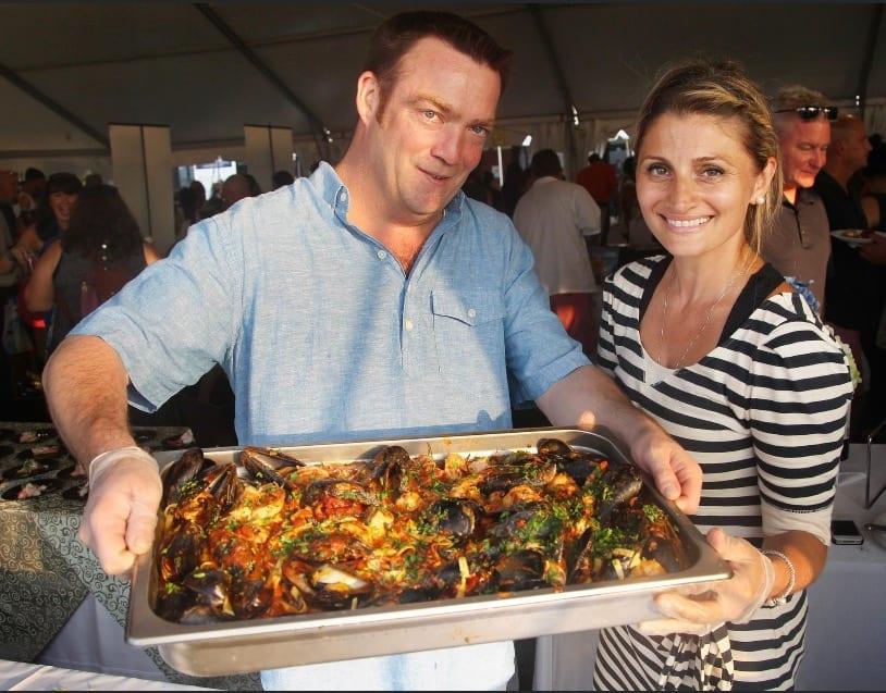 Owners Steve and Tinka McCauley. Photo Courtesy of Boathouse Bistro.