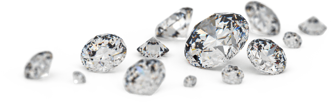 Transparent-Loose-Diamonds-PNG