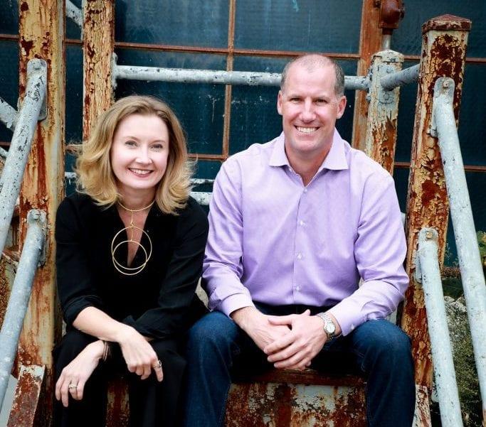 Call To Action Clothing founders Jill Palese and Dan Rakauskas. (Photo courtesy of Dan Rakauskas)