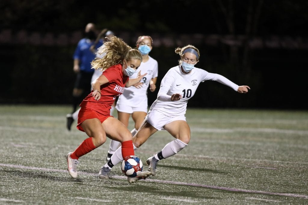 Sophomore Sophie Reale, who scored 6 goals in her last 2 games, looks to keep it going again WH.