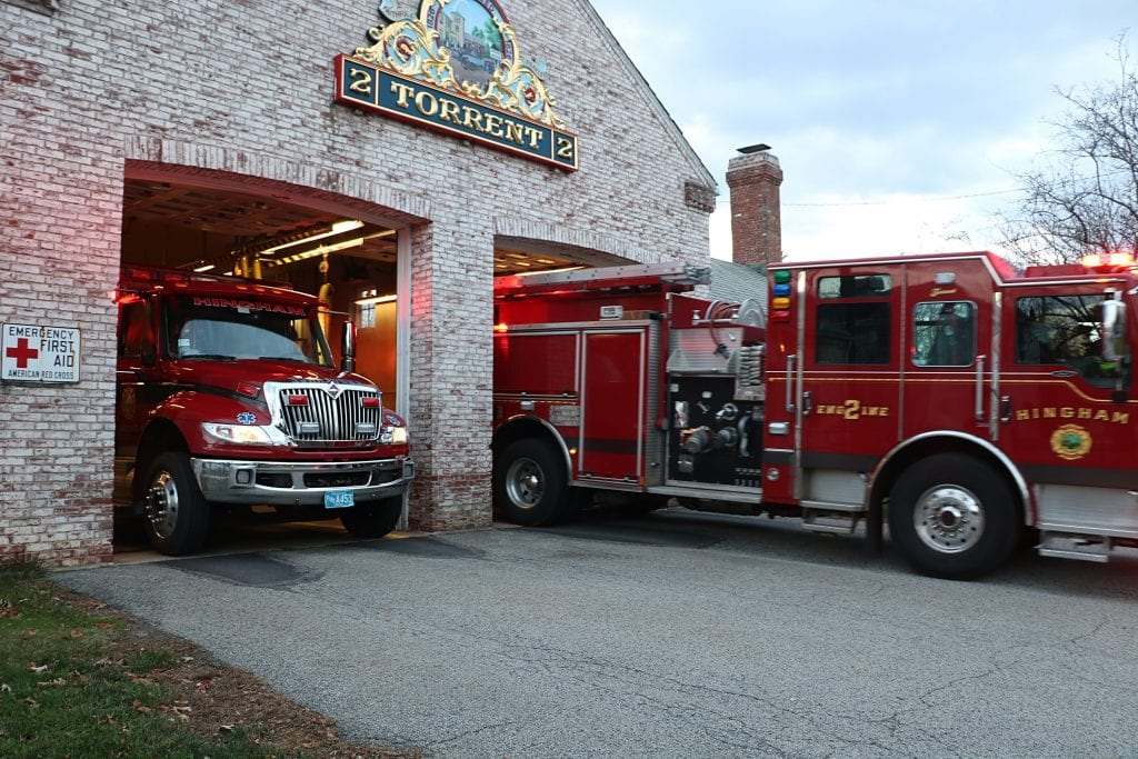 Tight squeeze for North Street HFD fleet