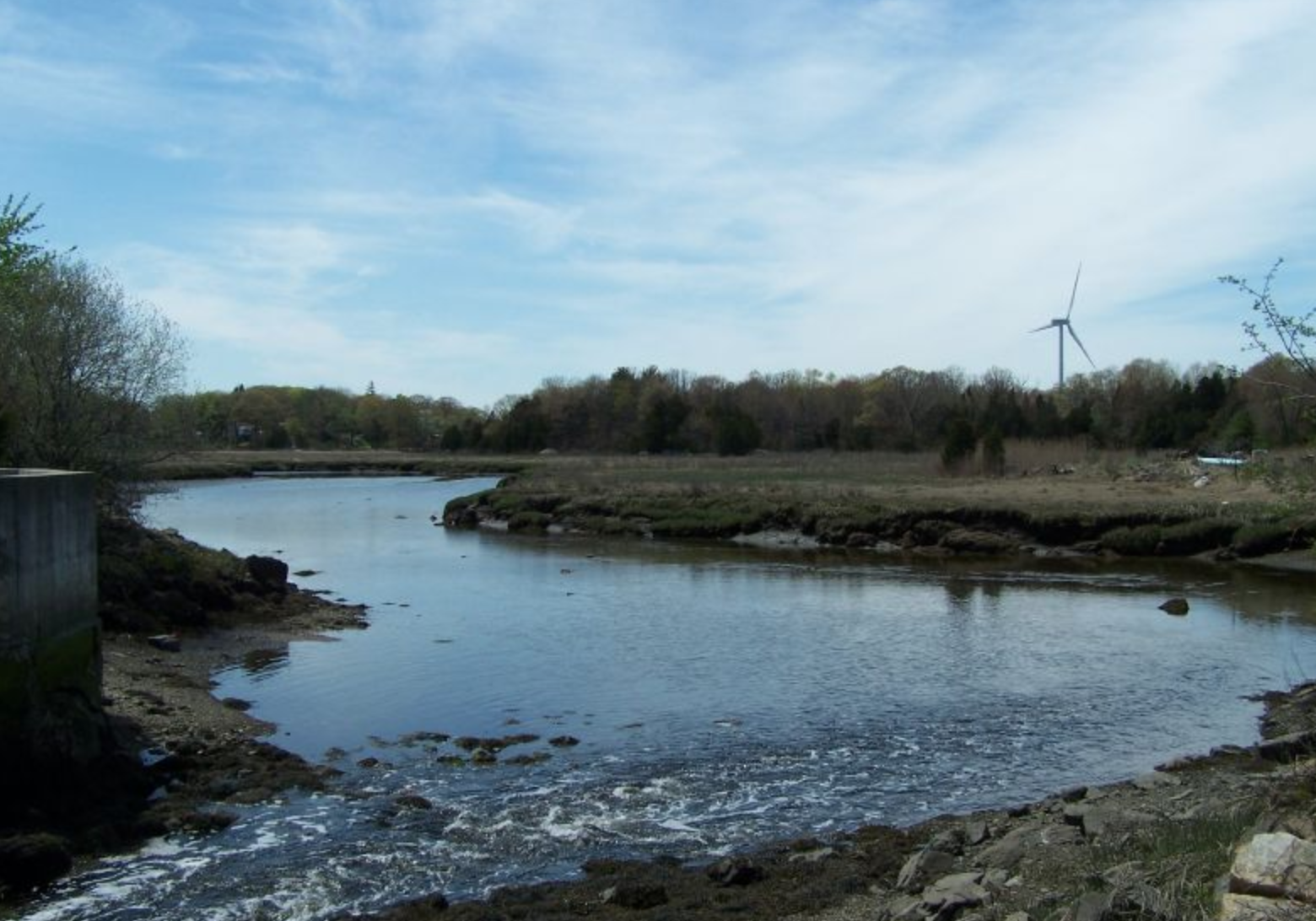 The Weir River in Hingham.