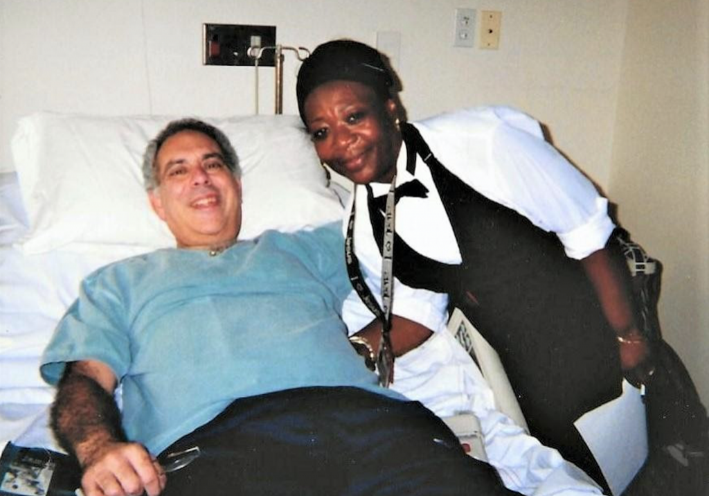 Glenn and Claudette, June 2001