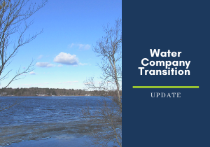 Water Company Transition